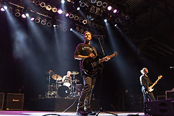 June 30, 2018 - Milwaukee, Wisconsin, U.S - BRAD HARGREAVES, STEPHAN JENKINS and ALEX LECAVALIER of Third Eye Blind perform live at Henry Maier Festival Park during Summerfest in Milwaukee, Wisconsin (Credit Image: © Daniel DeSlover via ZUMA Wire)