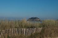 Britany France  Duguesclin island    and beach
