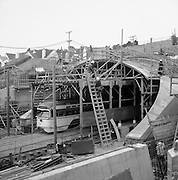 Construction of New Terminal at West Portal of Twin Peaks Tunnel | December 20, 1977