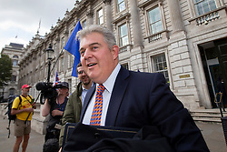 © Licensed to London News Pictures. 10/09/2019. London, UK. Minister of State for the Home Office Brandon Lewis leaves The Cabinet Office .  Photo credit: George Cracknell Wright/LNP