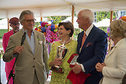 ARNAUD BAMBERGER; MR. AND MRS. PETER MULLIN WINNER OF THE STYLE ET LUXE, Goodwood Festival of Speed Cartier lunch. 27 June 2015