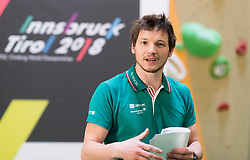 27.03.2017, Kletterzentrum Austria, AUT, IFSC Kletter WM Innsbruck 2018, WM-Promotion in Wien, im Bild KVÖ Sportdirektor Heiko Wilhelm // during promotion tour in vienna for the IFSC World Championship Innsbruck 2018 in Vienna, Austria on 2017/03/27, EXPA Pictures © 2017 PhotoCredit: EXPA/ Michael Gruber