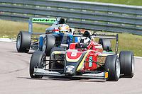 #5 Jeremy WAHOME (KEN)  Chris Dittmann Racing  Tatuus-Cosworth  BRDC British F3 Championship at Rockingham, Corby, Northamptonshire, United Kingdom. April 30 2016. World Copyright Peter Taylor/PSP.