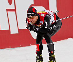 16.12.2011, Casino Arena, Seefeld, AUT, FIS Nordische Kombination, Team Sprint 2* 7.5 km, im Bild Seppi Hurschler (SUI) // Seppi Hurschler of Switzerland during Team Sprint 2* 7.5 km the team competition at FIS Nordic Combined World Cup in Sefeld, Austria on 20111211. EXPA Pictures © 2011, PhotoCredit: EXPA/ P.Rinderer