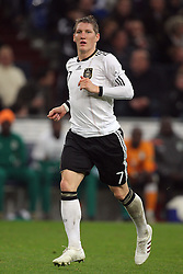 BASTIAN SCHWEINSTEIGER.GERMANY.GERMANY V IVORY COAST.VELTINS ARENA, GELSENKIRCHEN, GERMANY.18 November 2009.GAB4643..  .WARNING! This Photograph May Only Be Used For Newspaper And/Or Magazine Editorial Purposes..May Not Be Used For, Internet/Online Usage Nor For Publications Involving 1 player, 1 Club Or 1 Competition,.Without Written Authorisation From Football DataCo Ltd..For Any Queries, Please Contact Football DataCo Ltd on +44 (0) 207 864 9121