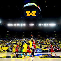 Michigan Basketball 1 Day 1 Game