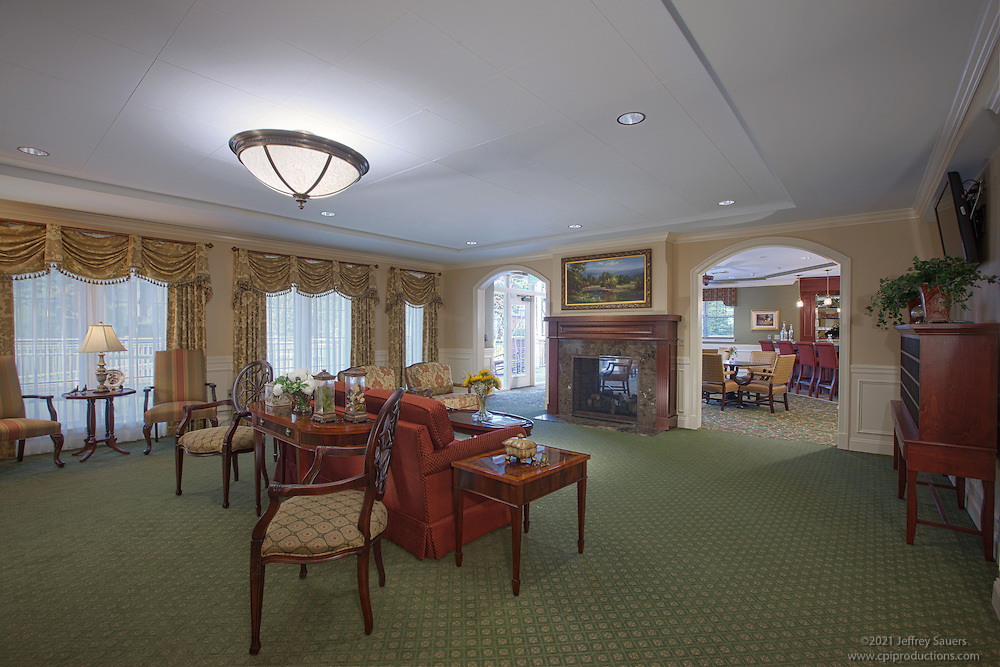 Interior Design Image of Living Room at Brightview Towson Assisted Living