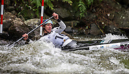 Mike Dawson in action in the C1,NZ Open kayaking, Managhao, New Zealand. Saturday, January 21, 2017. Copyright photo: John Cowpland / www.photosport.nz