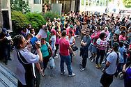 Roma 13 Giugno 2013<br /> I movimenti di lotta per la casa hanno occupato in mattinata la sede dell' Acea per protestare contro i distacchi dell' acqua nelle case occupate.