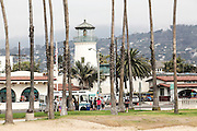 United States, California, Santa Barbara, Historical lighthouse.