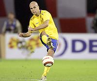 Fotball<br /> VM-kvalifisering<br /> Croatia / Kroatia v Sverige <br /> 08.10.2005<br /> Foto: Dppi/Digitalsport<br /> NORWAY ONLY<br /> <br /> TEDDY LUCIC (SWE)