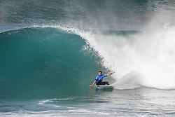 October 12, 2017 - Joan Duru of France advanced directly to Round Three of the 2017 Quiksilver Pro France after winning Heat 7 of Round One at Hossegor. (Credit Image: © WSL via ZUMA Press)
