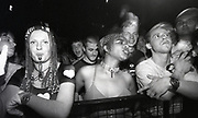 Audience at The Prodigy gig, Manchester, circa 1990