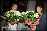 Cartier dinner in celebration of the Chelsea Flower Show. The Palm Court at the Hurlingham Club, London. 19 May 2014.