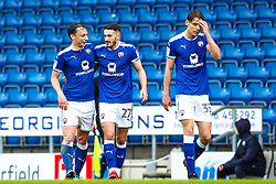 Chesterfield celebrate taking the lead over Wycombe Wanderers - Mandatory by-line: Robbie Stephenson/JMP - 28/04/2018 - FOOTBALL - Proact Stadium - Chesterfield, England - Chesterfield v Wycombe Wanderers - Sky Bet League Two