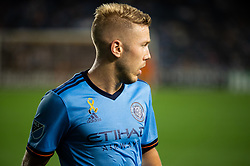 September 5, 2018 - Bronx, New York, United States - New York City defender ANTON TINNERHOLM #3 during a regular season match at Yankee Stadium in Bronx, NY.  New England Revolution defeats New York City FC 1 to 0 (Credit Image: © Mark Smith/ZUMA Wire)