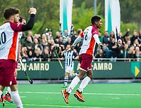 ALMERE - Hockey - Hoofdklasse competitie heren.ALMERE-HDM (4-2).  Terrance Pieters (Almere) heeft gescoord. . HDM degradeert.  COPYRIGHT KOEN SUYK