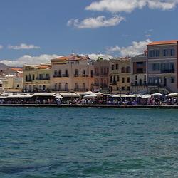 Panorama: Chania, Crete, Greece