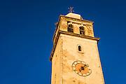 Bell tower and clock, Skradin, Dalmatia, Croatia