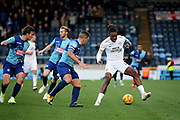 Peterborough United forward Ivan Toney (17) during the EFL Sky Bet League 1 match between Wycombe Wanderers and Peterborough United at Adams Park, High Wycombe, England on 3 November 2018.
