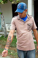 Tattoo in Holguin, Cuba.