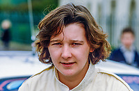 Louise Aitken-Walker, Cumbria, England, UK, rally driver, 19850406LAW.<br /> <br /> Copyright Image from Victor Patterson, Belfast, UK<br /> <br /> t: +44 28 9066 1296 (from Rep of Ireland 048 9066 1296)<br /> m: +44 7802 353836<br /> <br /> victorpattersonbelfast@gmail.com<br /> <br /> www.victorpatterson.com OR <br /> www.images4media.com<br /> <br /> Please see my Terms and Conditions of Use at https://www.victorpatterson.com/page2<br /> It is IMPORTANT that you familiarise yourself with them.<br /> <br /> Images used on the Internet incur an additional cost and must be visibly watermarked i.e. © Victor Patterson within the body of the image and copyright metadata must not be deleted. Images used on the Internet have a size restriction of 4 kbs and are chargeable at rates available at victorpatterson.com.<br /> <br /> This image is only available for the use of the download recipient i.e. television station, newspaper, magazine, book publisher, etc, and must not be passed on to any third party. It is also downloaded on condition that each and every usage is notified within 7 days to victorpattersonbelfast@gmail.com.<br /> <br /> The right of Victor Patterson to be identified as the author is asserted in accordance with The Copyright Designs And Patents Act (1988). All moral rights are asserted.