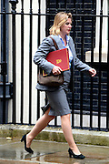 © Licensed to London News Pictures. 12/06/2012. Westminster, UK Justine Greening Secretary of State for Transport. Politicians on Downing Street today 12 June 2012. Photo credit : Stephen Simpson/LNP