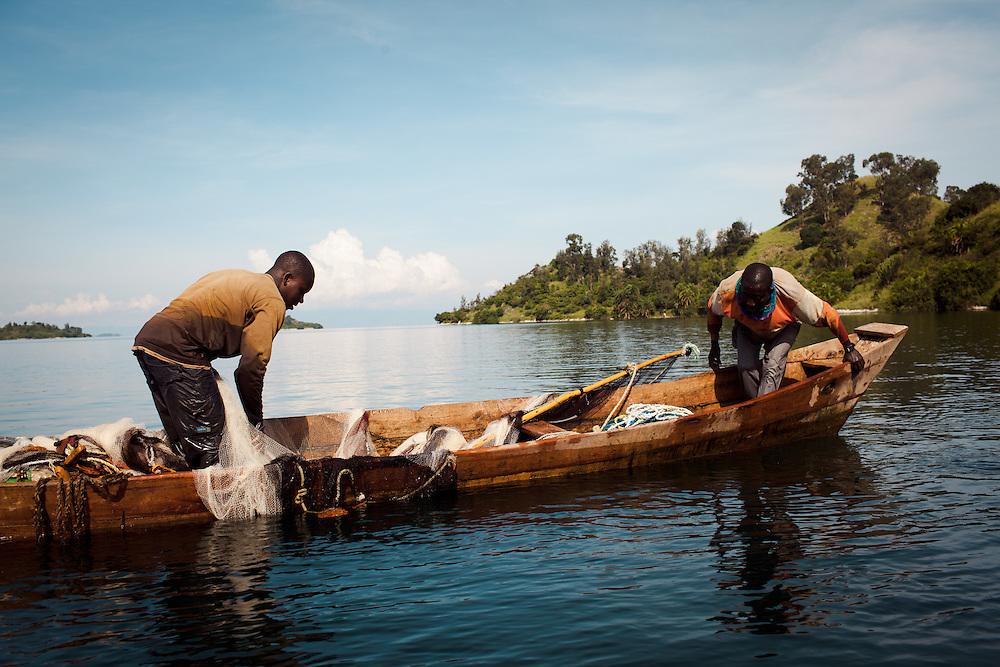 Fishing on Lake Kivu, Rwanda