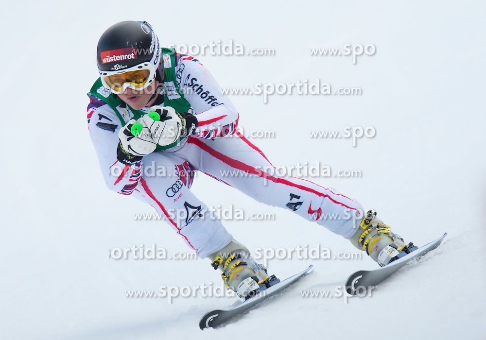 13.03.2012, Planai, Schladming, AUT, FIS Weltcup Ski Alpin, Damen, Abfahrt 2. Training, im Bild Elisabeth Goergl (AUT) // Elisabeth Goergl of Austria during ladis 2nd downhill practice session of FIS Ski Alpine World Cup at 'Planai' course in Schladming, Austria on 2012/03/13. EXPA Pictures © 2012, PhotoCredit: EXPA/ Johann Groder