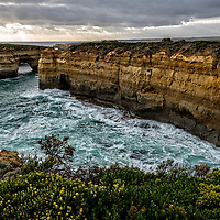 The London Arch is an offshore natural arch formation in the Port Campbell National Park, Australia.  The London Arch was known as the London Bridge until part of it collapsed.