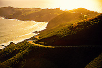The Marin Headlands, Marin County (near San Francisco), California USA