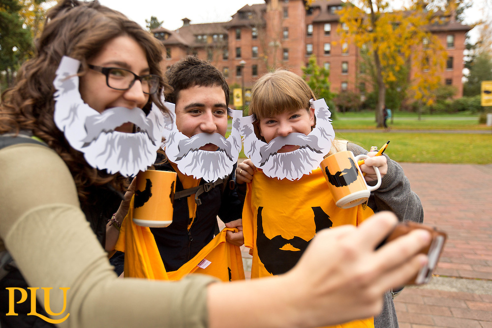 Bjug Harstad Day at PLU on Wednesday, Oct. 14, 2015. (Photo/John Froschauer)