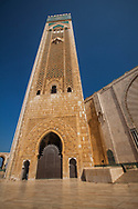 Hassan II Mosque outside, Casablanca Morocco
