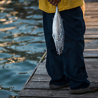 Utila Cays is a small island that is inhabited mainly by fishermen from English settlers who came centuries ago,  They share the island with hispanics from Honduras and Garifuna people who come to work the Artisan fishing industry.<br />