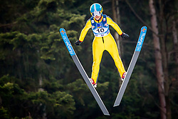 Xueyao Li (CHN) during 1st Round at Day 1 of FIS Ski Jumping World Cup Ladies Ljubno 2018, on January 27, 2018 in Ljubno ob Savinji, Ljubno ob Savinji, Slovenia. Photo by Ziga Zupan / Sportida