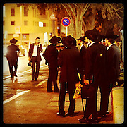 Jerusalem, Israel. September 20th 2011.A street scene in the city center...
