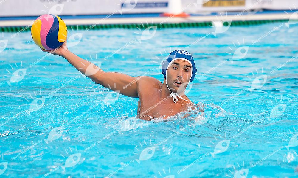 5 GIORGETTI Alex ITA<br /> Serbia SRB (white) - Italy ITA (blue)<br /> day 02 - 24/06/2015<br /> FINA Water Polo World League Superfinal Men<br /> Bergamo (ITA) 23-28 June 2015<br /> Photo G.Scala/Deepbluemedia