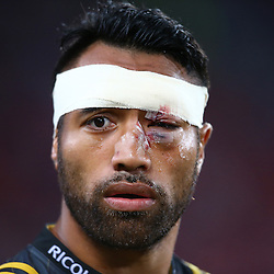 JOHANNESBURG, SOUTH AFRICA - APRIL 30: Victor Vito of the Hurricanes during the Super Rugby match between Emirates Lions and Hurricanes at Emirates Airline Park on April 30, 2016 in Johannesburg, South Africa. (Photo by Steve Haag/Gallo Images)