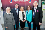 Galway launches 200 Gatherings ! Come home to Irelands Cultural Heart  with help of Galway County Council, County Manger Martina Maloney, Ronan Foley CEO IPB Insurance,  Michelle Staunton, Fáilte Ireland, Mr Jim Miley CEO The Gathering Ireland  at Aras An Contae. Picture Andrew Downes.