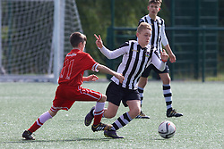 NEWPORT, WALES - Thursday, August 4, 2016: South Wales Academy Boys' George Newman during the Welsh Football Trust Cymru Cup 2016 at Newport Stadium. (Pic by Paul Greenwood/Propaganda)