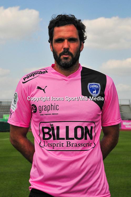 Rodolphe Roche - 05.09.2014 - Photo officielle Niort - Ligue 2 2014/2015<br /> Photo : Philippe Le Brech / Icon Sport