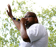 Chubb Rock appears at the 4th Annual Central Park SummerStage R&B Fest at Rumsey Playfield on August 12, 2012.