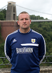 Bristol City goalkeeping coach Lee Kendall - Photo mandatory by-line: Kieran McManus/JMP - Tel: Mobile: 07966 386802 31/07/2013 - SPORT - FOOTBALL - Avon Gorge Hotel - Clifton Suspension bridge - Bristol -  Team Photo
