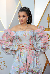 Andra Day at the 90th Annual Academy Awards held at the Dolby Theatre in Hollywood, USA on March 4, 2018.
