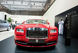 Rolls Royce Wraith at the Dubai Motor Show 2013 United Arab Emirates