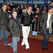 NLD/Amsterdam/20060409 -  Première Black Pinocchio, Pietje Bell, Wesley Faaij, Tommy van den Berg, jeroen Heiliegers en Clemens Levert