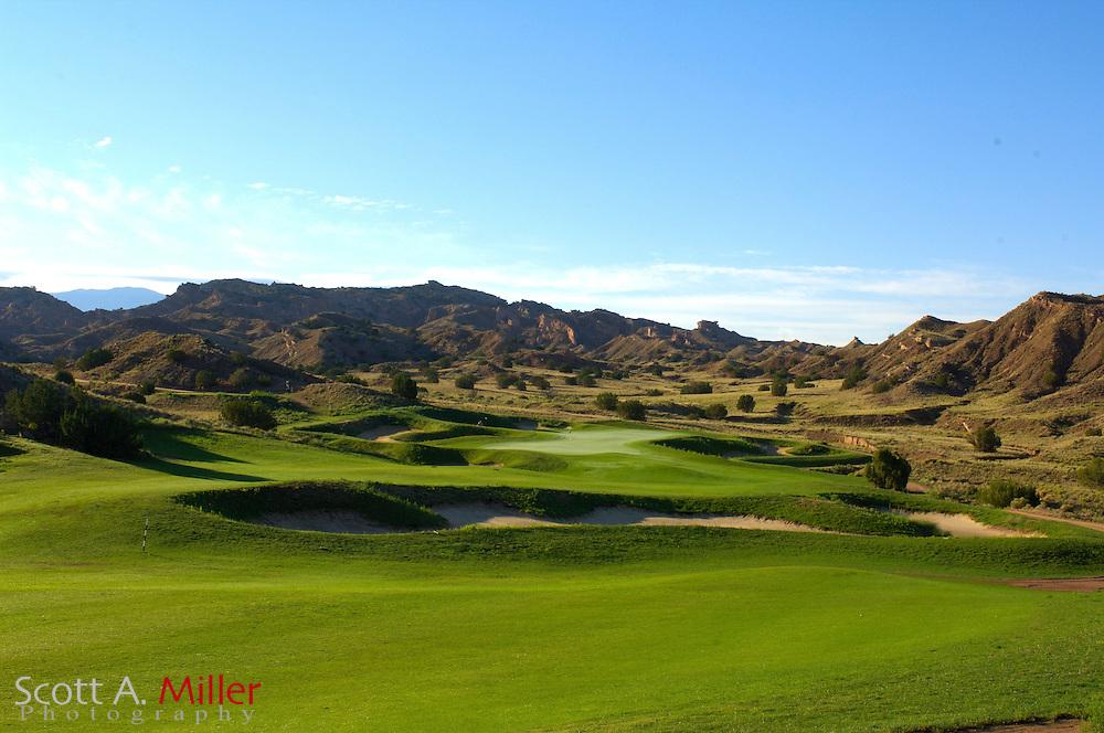 Espanola, N.M.:  July 10, 2006 -  No. 13 on Black Mesa Golf Club in Espanola, N.M...                ©2006 Scott A. Miller