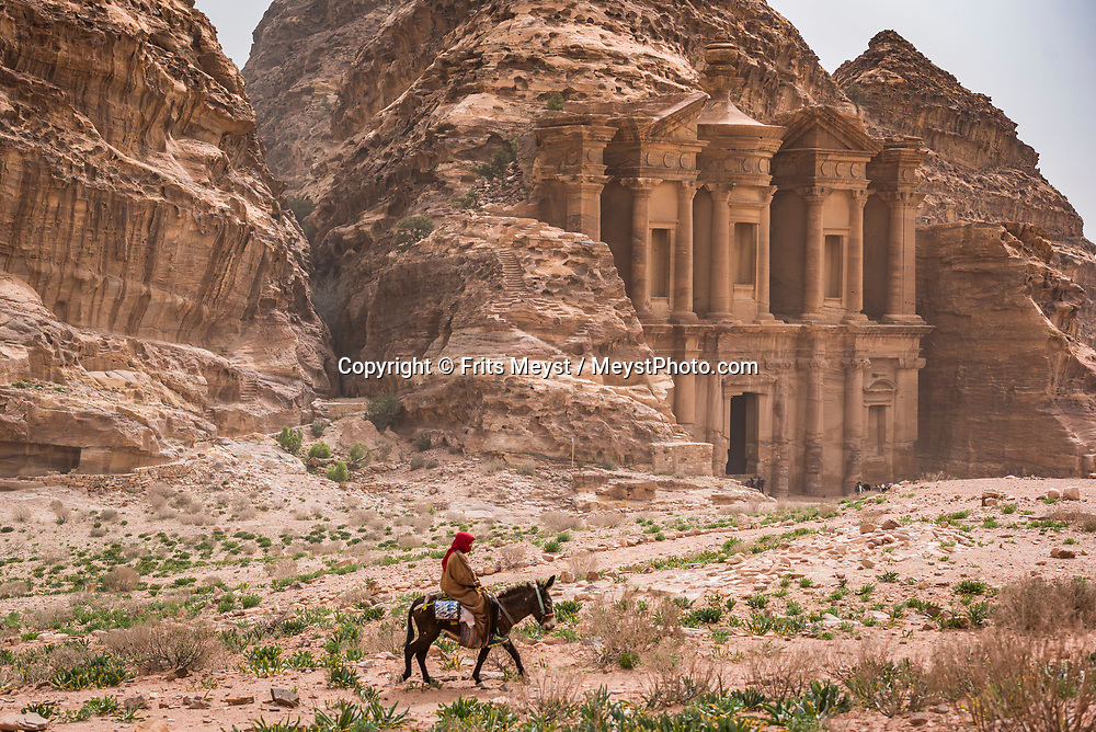 Dana, Petra, Wadi Rum, Jordan, April 2019. The crown jewel of the Jordan trail is the famed Dana to Petra Trek. It truly is a great hike with varying landscapes each day and finishes at the UNESCO World Heritage Site of Petra. The Jordan Trail is a walking trail crossing and connecting the length of the country of Jordan from Um Qais in the north to Aqaba and the Red Sea in the south. Offering 40 days of trekking acrossmore than 600 kilometers of trail, it traverses the diverse landscapes and vistas of the country. The Kingdom of Jordan is hosts one of the most accessible desert wildernesses of the Middle East, with a rich Bedouin culture. Photo by Frits Meyst / Meystphoto.com