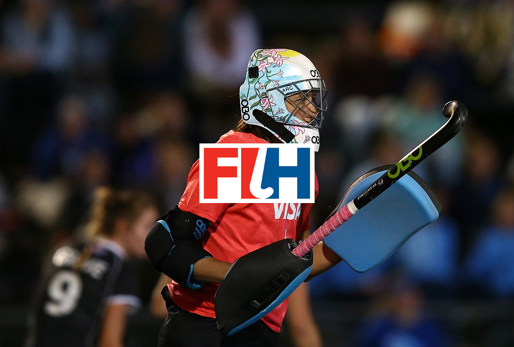 JOHANNESBURG, SOUTH AFRICA - JULY 20:  Belen Succi, Goalkeeper of Argentina looks on during day 7 of the FIH Hockey World League Women's Semi Finals semi final match between Germany and Argentina at Wits University on July 20, 2017 in Johannesburg, South Africa.  (Photo by Jan Kruger/Getty Images for FIH)