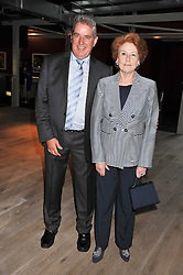 LADY ELIZABETH ANSON and ? at a party to celebrate the publication of her  autobiography - The World According to Joan, held at the British Film Institute, South Bank, London SE1 on 8th September 2011.